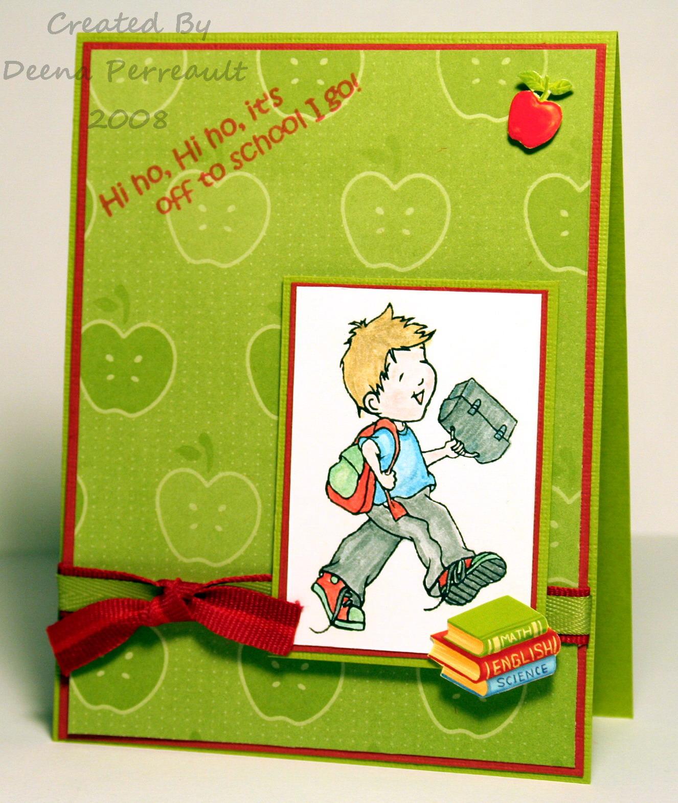 An Apple For The Teacher A Creative Need