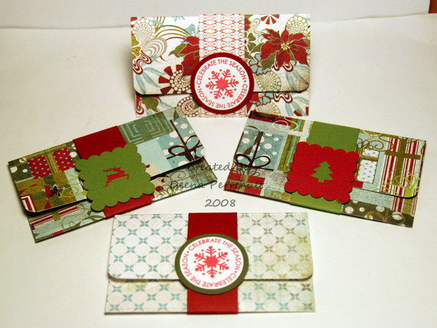 Christmas Gift Card Holders | A Creative Need