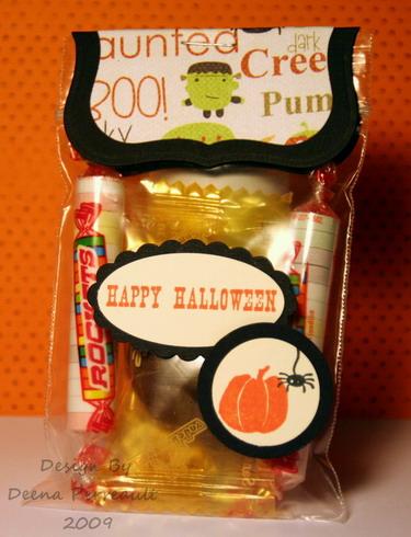 Halloween Treat Bag w 30