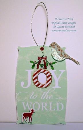 Christmas Tag Joy