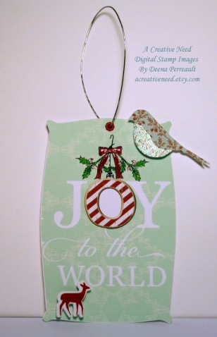 Christmas Tag Joy