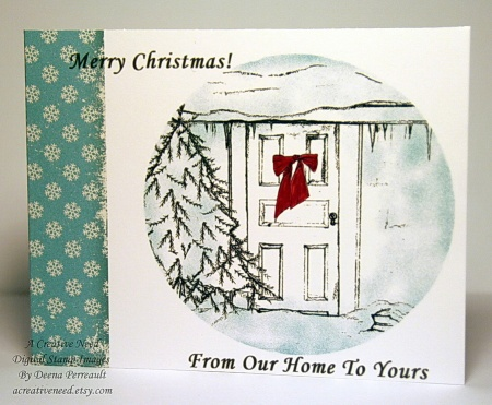 From Our Home To Yours Holiday Card