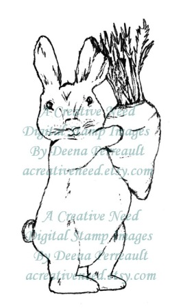 ACreativeNeed Bunny with carrot Preview