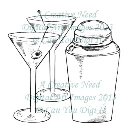 A Creative Need Martinis and Shaker Preview