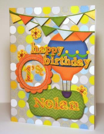 Happy First Birthday Nolan