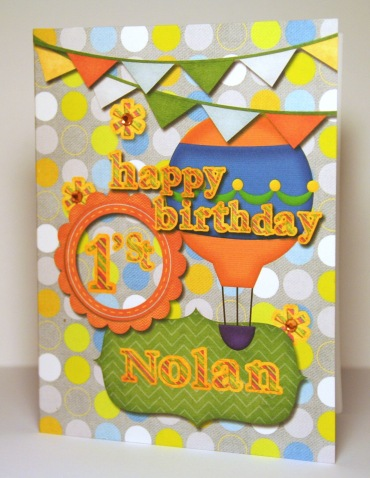 Happy First Birthday Nolan