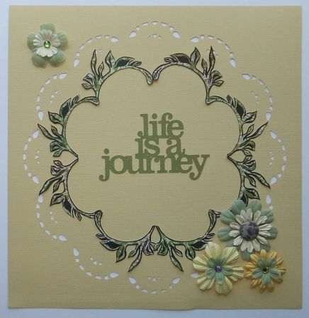 life is a journey page