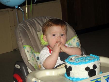 Nolan's First Birthday Cake
