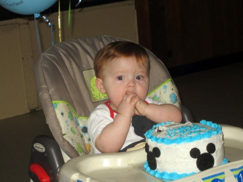 Nolan's First Birthday Cake