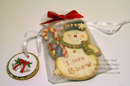 A Creative Need Gift Bag and Bell Tag 2