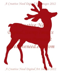 Deer Red Fill preview