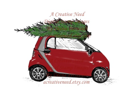 A Creative Need Bringing Home the Tree colored Preview