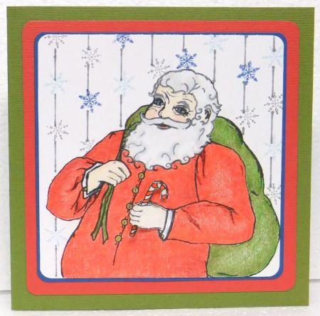 ACN Santa Claus card