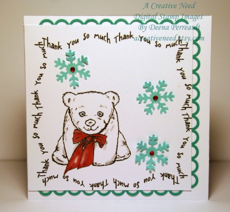 Bear Thank You