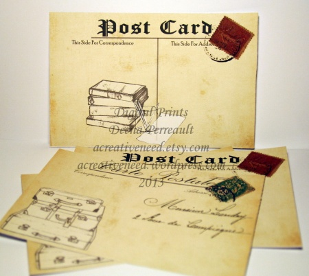 Post Cards Printables 2