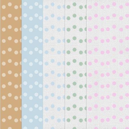 Digi Paper Samples-Sponge Dots
