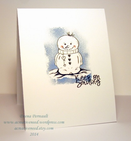 Keep on Smiling Snowman