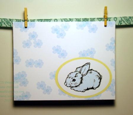 ACN Bunny Blue Blossoms