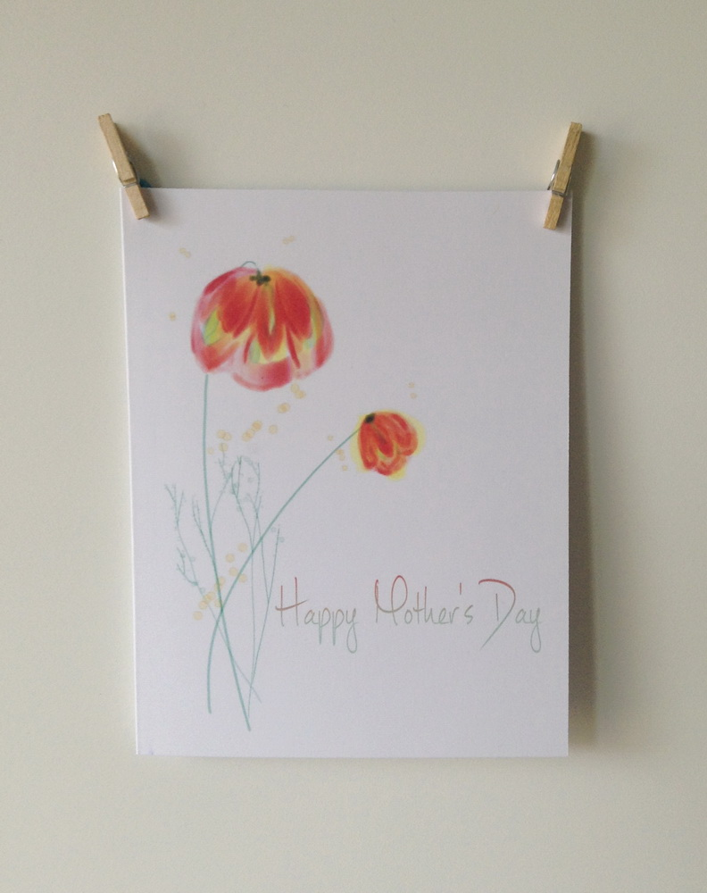 ACN Mother's Day Watercolor Flowers Preview 4