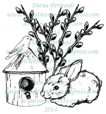 ACN Spring Bunny and Bird House Preview