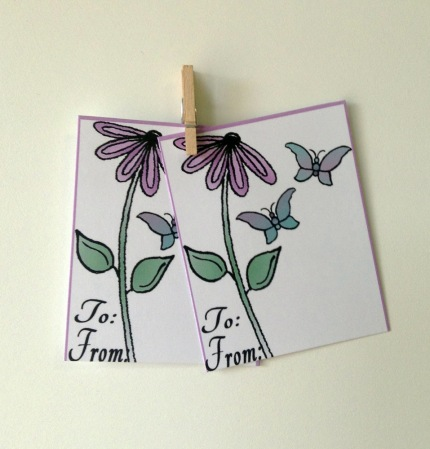 ACN Flower and Butterflies for Mom Card Preview 3