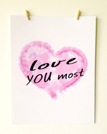 ACN Love You Most Art Print Preview 2