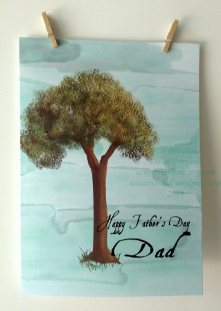 ACN Father's Day Tree Card Preview 2