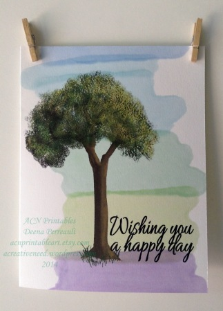 ACN Happy Day Tree Card Preview 2