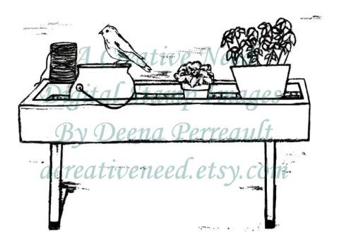 ACreativeNeed Garden Shelf Preview