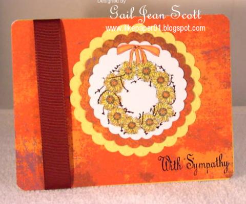 sunflower Wreat ACN Gail Scott
