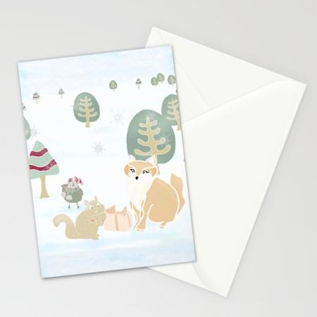 FF Winter Gathering card