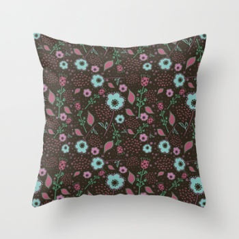 Naif Art throw pillow