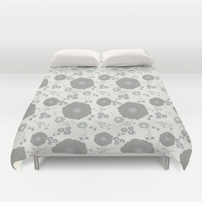 Grey Morning duvet cover